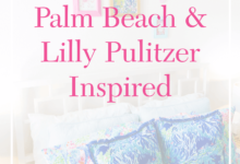 Affordable Palm Beach Lilly Pulitzer Inspired Room Tour