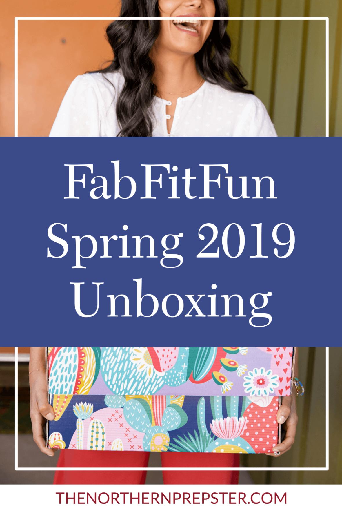 What I Got in My Spring 2019 FabFitFun Box + COUPON CODE