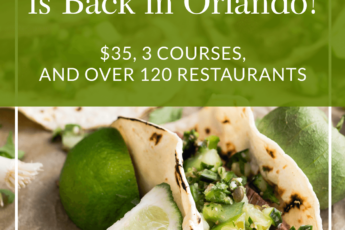 Magical Dining Is Back In Orlando 35 3 Courses And